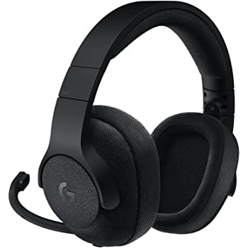 Logitech G433 Cuffia con Microfono per Giochi Cablata, Audio Surround 7.1, per Pc, Xbox One, PS4, Switch, Dispositivi Mobili, Nero