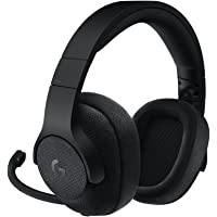 Logitech G433, Casque Gaming Filaire, son Surround 7.1, pour  Nintendo Switch, Xbox One, PS4, Switch, PC & Mobile (Noir)