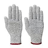 Lumaland Schnittschutzhandschuhe Arbeitshandschuhe Schutzklasse 5 verschiedene Größen S