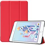Guteck Smart Case Compatible for iPad Mini 5 - Tri-Fold Ultra Lightweight Standing Protective Smart Cover with Auto Wake/Slee