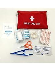 Leoie Portable Medicine Survival Bag Set for Home Outdoor Car Travel Emergency
