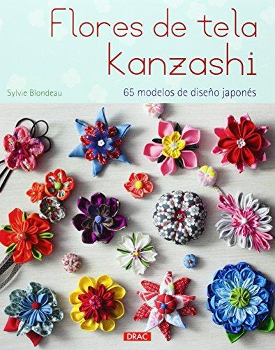 Flores de tela Kanzashi : 65 modelos de diseño japonés