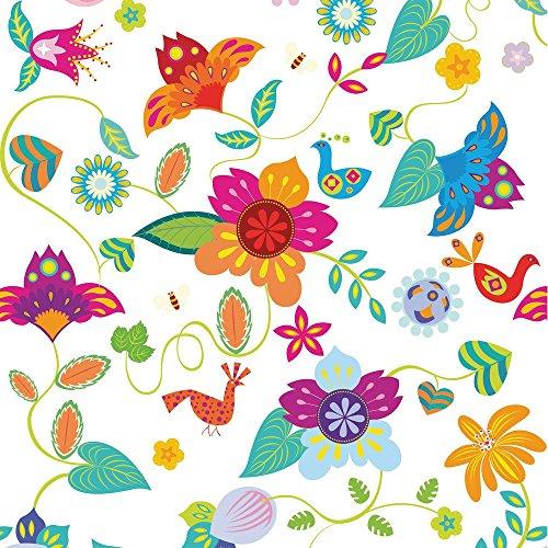 Apple iPhone 4 Housse Étui Silicone Coque Protection couleurs Fleurs Fleurs Étui en cuir bleu marine