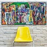 Wandkunst Leinwanddruck Landschaftsmalerei Panorama Bild Für Wohnzimmer Wohnkultur wandaufkleber porträt 80x100cm