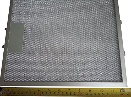 universal fettfilter f r dunstabzugshaube metall 320 x 260 mm silberfarben 2 st ck radio. Black Bedroom Furniture Sets. Home Design Ideas