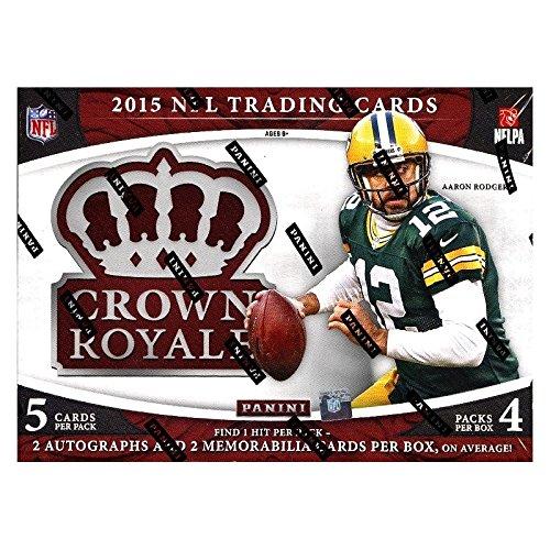 Panini 2015 Crown Royale Football Hobby Box NFL