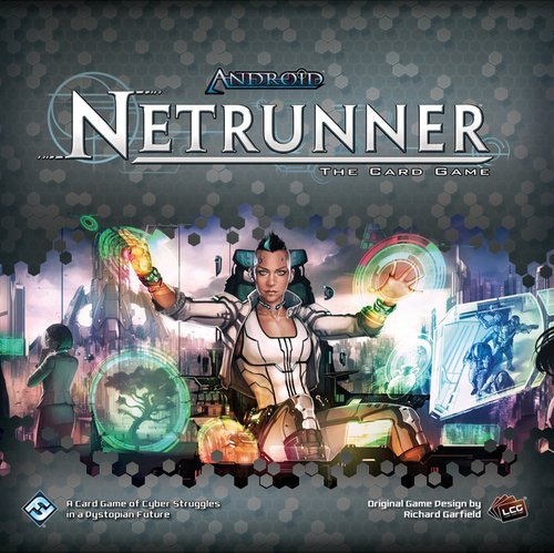 Fantasy Flight Games ffgadn49 Android Netrunner revisado Conjunto Básico