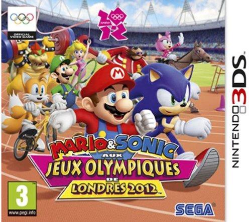 Mario & Sonic bei den Olympischen Spielen in London 2012 [3DS] + Kopfhörer Moon Headset Violett [3DS]