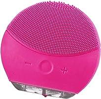 Sonic Cepillo limpiador para el rostro y masaje con temporizador, FDA Grade silicona, recargable impermeable Anti-Aging facial Exfoliator Body Makeup Tool