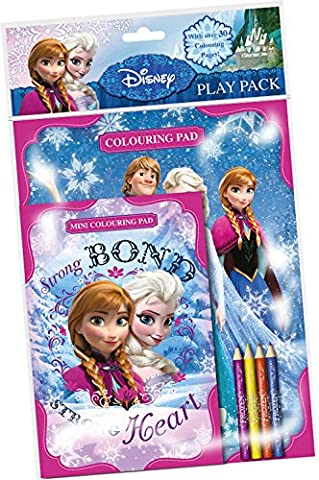 La Reine Des Neiges - Fnppk - Disney - Pack De Coloriage