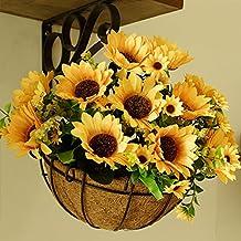 fiori finti Nassa Appesa Fiore Decorativo Fiore Fiori Da Giardino Fiori Appesi Fiore Rattan Fiore Di Ferro,D