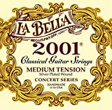 Labella L2001MT Concert Série Jeu de Cordes pour Guitare Medium Tension