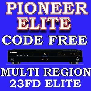 Lecteur Blu Ray DVD PIONEER ELITE BDP-23FD / BDP-LX52 Multi Region Code Free DVD 123456 PAL/SECAM/NTSC Blu Ray Zone A+B+C Player 100~240V 50/60Hz World-Wide Voltage.