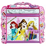 TW24 Disney Kinder Malunterlage - Kindermaltisch - Malset für Kinder - Malunterlage mit Motivauswahl (Malunterlage Disney Princess)