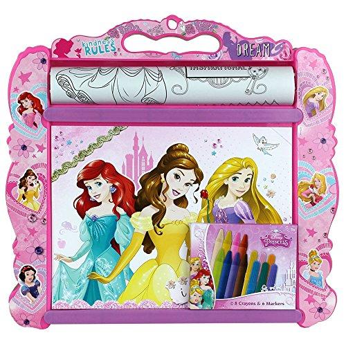 Disney Kinder Malunterlage - Kindermaltisch - Malset für Kinder - Malunterlage mit Motivauswahl (Malunterlage Disney Princess)