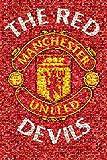 GB EYE LTD Maxi-Poster Manchester United, Mosaik, 61 x 91,5