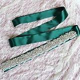 DYCHUN Cinturón Mujer Cristal Hecho A Mano Cinturón De Boda Rhinestone Piedras Checas Novia Cinturón Nupcial Fajas Accesorios De Boda Vestido De Noche Cinturón