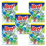 Bref WC Power Activ Pin 50 g - Blocs Nettoyants WC -  Lot de 5