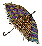 Travel Cotton Umbrella For Women 24 X 28...