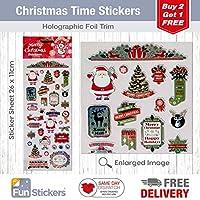 Christmas Time Christmas Stickers
