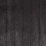 Fabulous Fabrics Ecopelliccia, Coniglio 1 - Nero - Vendita al Metro da 0,5m - per Cucire Giacche e Cappotti