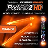 ORANGE - LED LEUCHTEN TROMMELSTOCK - ROCKSTIX