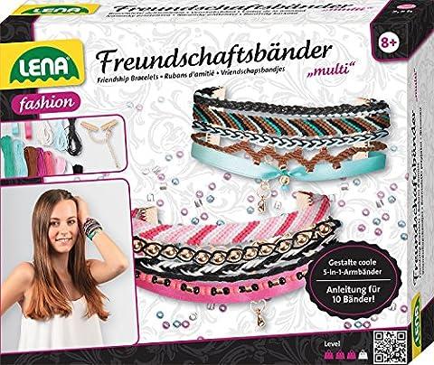 Lena 42116 - Bastelset Freundschaftsbänder