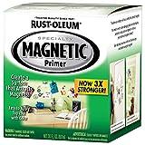 #1: Rust-Oleum 247596 SPECIALTY Magnetic Primer Paint - 946 ml
