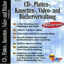 CD-Verwaltung, Plattenverwaltung, Kassettenverwaltung, Videoverwaltung und Bücherverwaltung, 1 CD-ROM f. Windows 95/98/NT 4.0