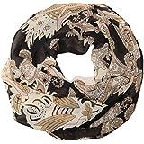 ManuMar Loop-Schal für Damen | Hals-Tuch mit Motiv als perfektes Sommer-Accessoire | Schlauch-Schal - Das ideale Geschenk für Frauen