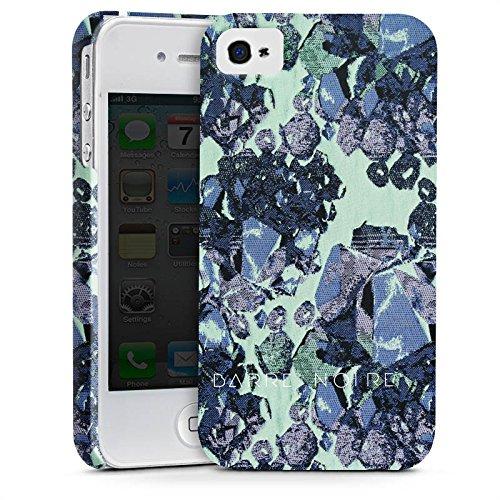 Apple iPhone X Silikon Hülle Case Schutzhülle steine edelsteine frühling Premium Case glänzend