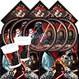 Official Star Wars Classic Complete Party Supplies Kit for 16