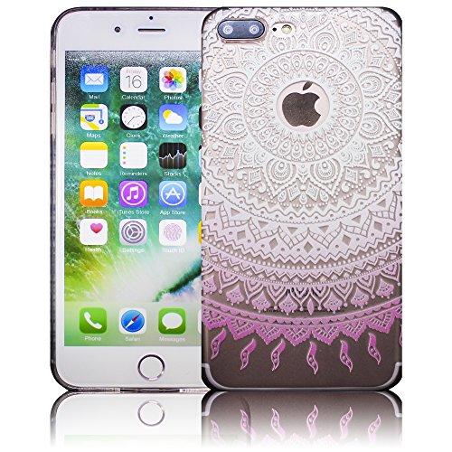 Apple iPhone 7 Plus - Design 10 Silikon Crystal Kristall clear transparent durchsichtig Schutz-Hülle Hülle weiche Tasche Cover Case Bumper Etui Flip smartphone handy backcover Schutzhülle Handyhülle t Design 2