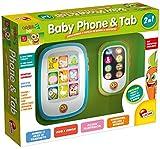 Lisciani Giochi 51458 - Carotina Baby 2 in 1 Phone and Tab Giocattolo Parlante Multifunzione [Versione 2015]