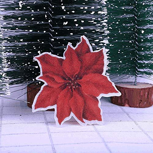 Amphia - Weihnachtslieder glühende Dekoration,Bunte ändernde Weihnachten LED Nachtlicht Home Party Schreibtisch Xmas Tree Wall Decor