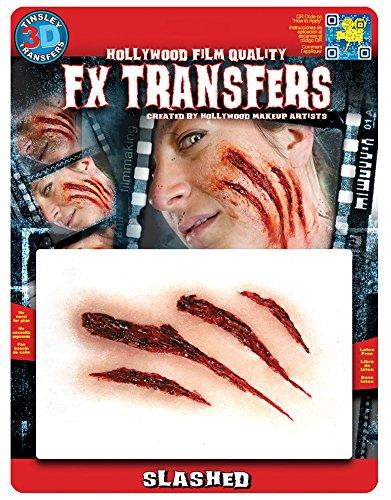 Aufgeschlitzt Klaue Mark Fake Scar FX Transfer