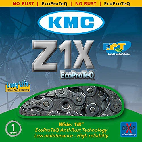 Fahrradkette KMC Z1 X EPT 112 Glieder 1/2 x 1/8, 8.6mm, silber