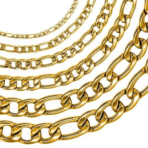 soulcats-figaro-collana-uomini-xxl-re-catena-catena-marciapiede-dimensione-7-mm-colore-oro-selezione