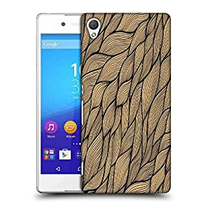 Snoogg Cream Leaves Pattern Designer Protective Phone Back Case Cover For Asus Zenfone 6