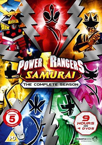 Power Rangers Samurai - The Complete Collection (4 disc set) [DVD] [UK Import]
