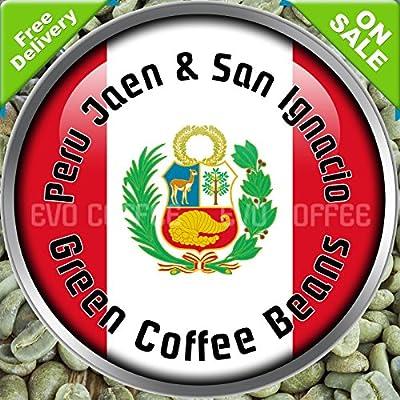 Peru Organic FairTrade Arabica Raw Green Coffee Beans 1kg by Evocoffee