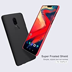 Nillkin Super Frosted Hard Back PC Case for OnePlus 6 (Black)