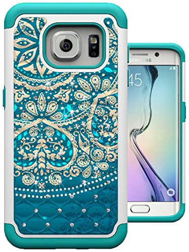 galaxy s7 case edge magic sky flower