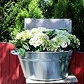 Gartenzaubereien Zinkwanne 38 Liter von Ko - Du und dein Garten