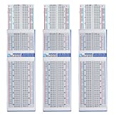 Best Breadboards - Elegoo 3pcs MB-102 Breadboard con 830 Punti Senza Review