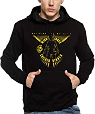 ADRO Men's PUBG Game Design Printed Cotton Hoodies