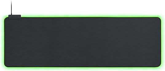 Razer Goliathus Chroma weiches RGB Gaming Mausmatte (mit 16,8 Millionen Farboptionen, optimiert für Alle Sensoren für Speed- und Control Gameplay, Extended)