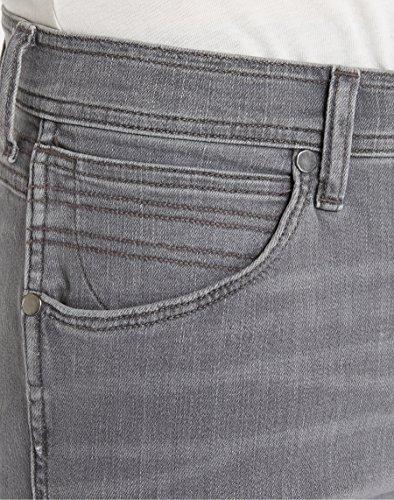Wrangler Herren Greensboro Hidden Paths Jeans Grau (Hidden Paths 75S)