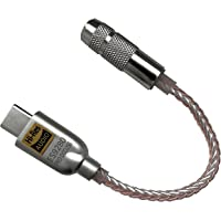 SOONTEC Hi-Res DAC - Amplificatore esterno ES9280 Pro per smartphone Android, USB-C Audio Adattatore 384 kHz DSD 256 jack da 3,5 mm
