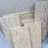 1m² Reste 12mm OSB/3 Grobspanplatte Zuschnitt Holz Platten Feuchtraum-geeignet nach DIN EN 300 Verlegeplatten Holzwerkstoff-Platten Spanplatten